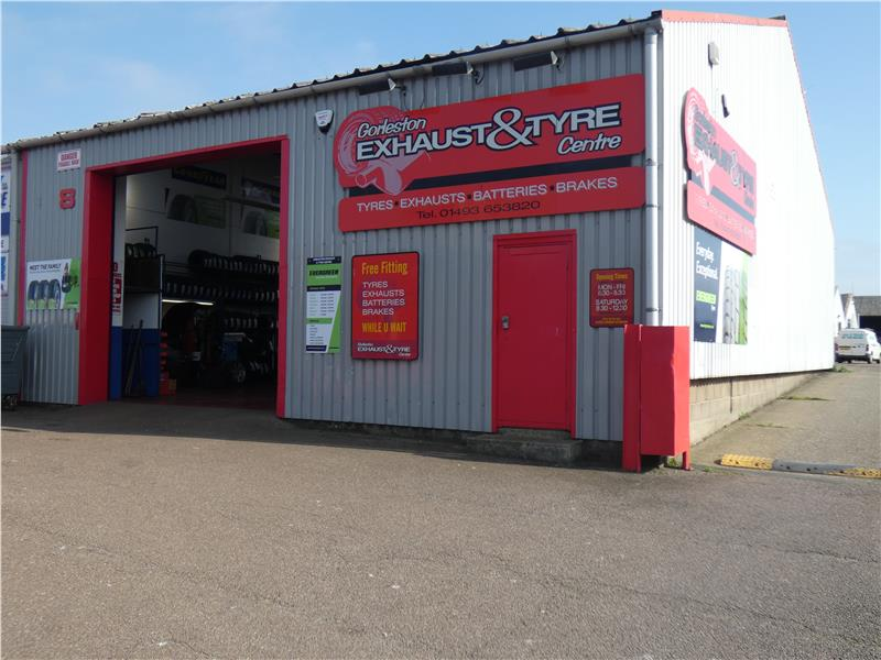 Image of Gorleston Exhaust & Tyre Centre, Unit 8 Riverside Industrial Centre, Riverside Road, Great Yarmouth, Norfolk