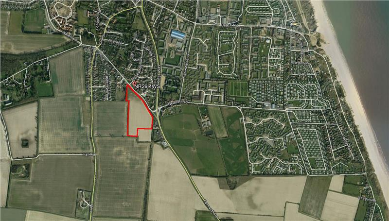 Image of Land Off, Yarmouth Road, Hemsby, Great Yarmouth, Norfolk